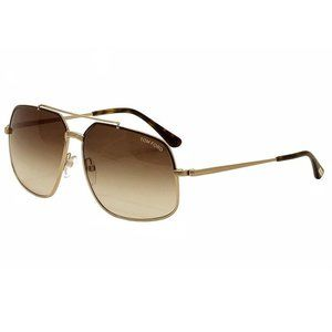TOM FORD UNISEX MEN WOMEN SUNGLASSES BROWN TF 439